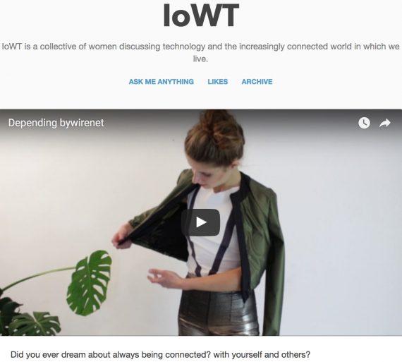 170124 IoWT fashion tech by-wire